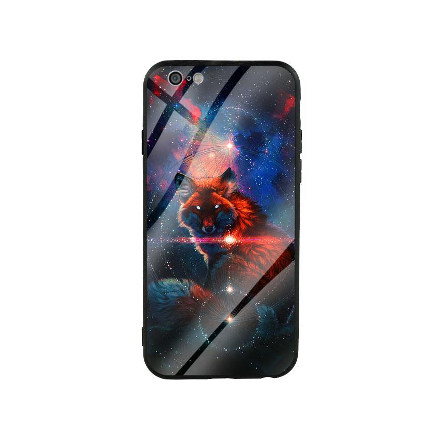 Ốp Lưng Kính Cường Lực cho điện thoại Iphone 6 / 6s - Fox 05