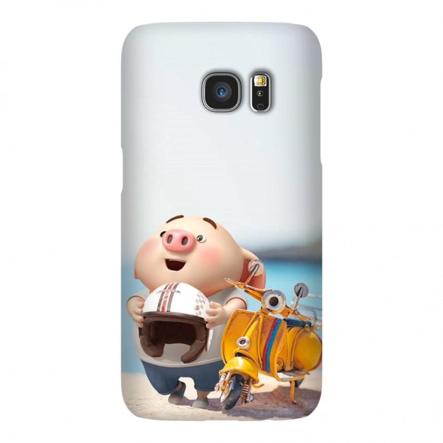 Ốp Lưng Cho Điện Thoại Samsung Galaxy S7 - Mẫu heocon 110