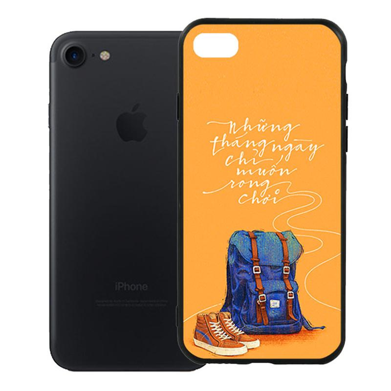 Ốp Lưng Viền TPU Cao Cấp Dành Cho iPhone 7 - Tháng Ngày Rong Chơi