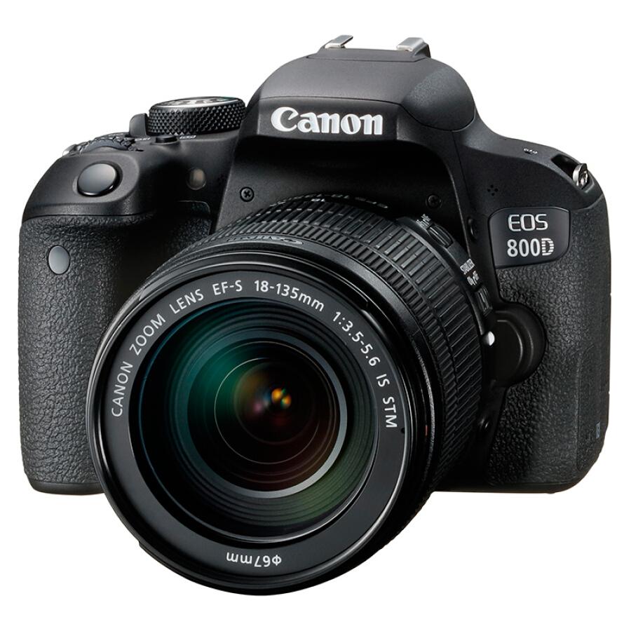 Máy Ảnh SLR Canon EOS 800D - EF-S 18-135mm f/ 3.5-5.6 IS STM