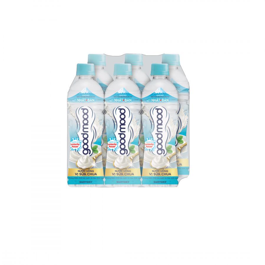 Lốc 6 chai Nước uống vị sữa chua Good Mood 455ml - 1835896 , 8965987311339 , 62_13753646 , 46000 , Loc-6-chai-Nuoc-uong-vi-sua-chua-Good-Mood-455ml-62_13753646 , tiki.vn , Lốc 6 chai Nước uống vị sữa chua Good Mood 455ml