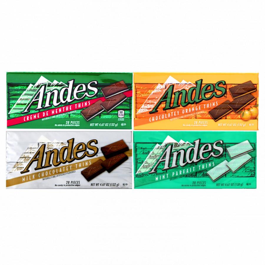 Combo 4 loại Kẹo sô cô la Andes nhân bạc hà + Andes nhân cam + Andes Sữa + Andes Bạc Hà (132g/thanh) - 1412196 , 5124020918413 , 62_7208119 , 432000 , Combo-4-loai-Keo-so-co-la-Andes-nhan-bac-ha-Andes-nhan-cam-Andes-Sua-Andes-Bac-Ha-132g-thanh-62_7208119 , tiki.vn , Combo 4 loại Kẹo sô cô la Andes nhân bạc hà + Andes nhân cam + Andes Sữa + Andes Bạc H