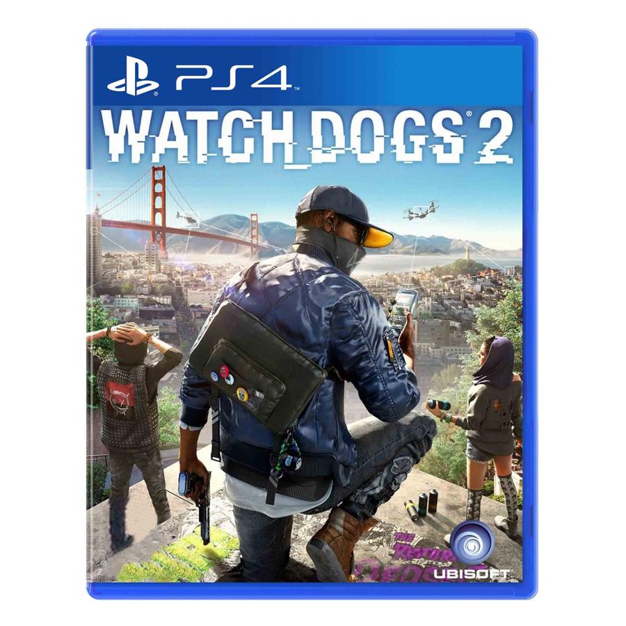 Đĩa Game PlayStation PS4 Sony Watch Dogs 2 Hệ Asia - Hàng Chính Hãng