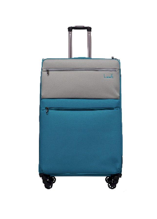 Vali kéo vải chống thấm Lusetti LS1810 Size 24 (Bạc)
