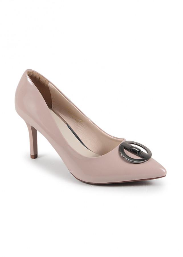 Giày cao gót mũi nhọn trang trí H07018 Nados