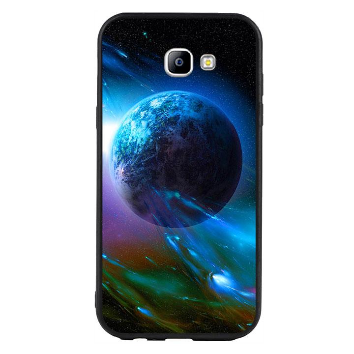Ốp lưng viền TPU cao cấp cho Samsung Galaxy A7 2017  - Universe