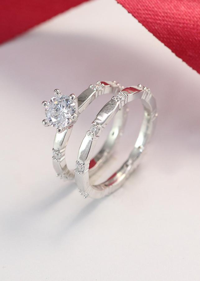 Nhẫn đôi bạc cho đôi bạn thân ND0229
