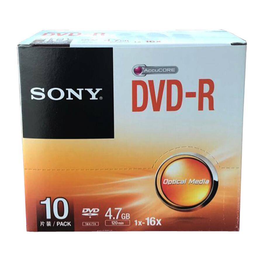 Đĩa Trắng DVD-R/+R SONY 16-speed 4.7G - 778200 , 7206390483857 , 62_9154929 , 393000 , Dia-Trang-DVD-R-R-SONY-16-speed-4.7G-62_9154929 , tiki.vn , Đĩa Trắng DVD-R/+R SONY 16-speed 4.7G