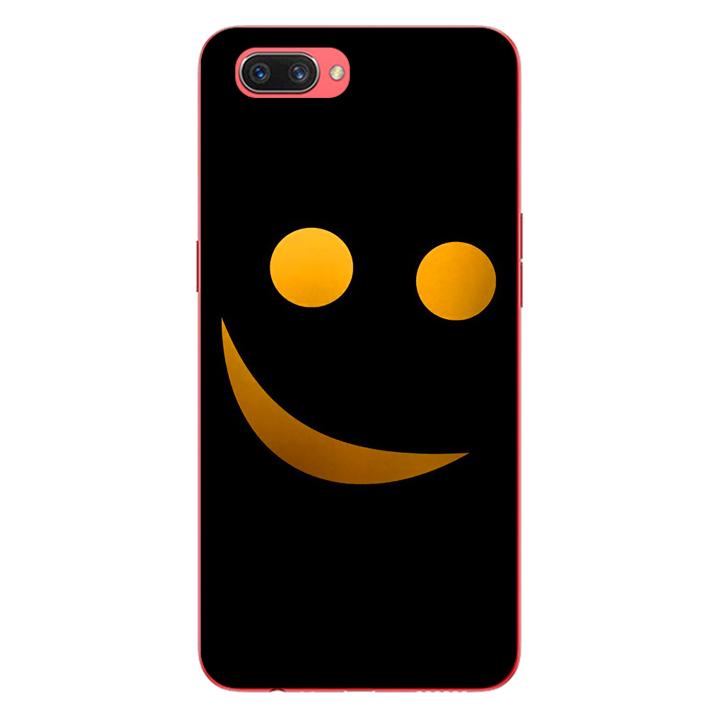 Ốp lưng dẻo cho điện thoại Oppo A3s_Smile 03