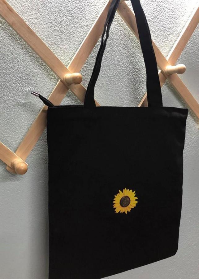 Túi Canvas Hoa Hướng Dương