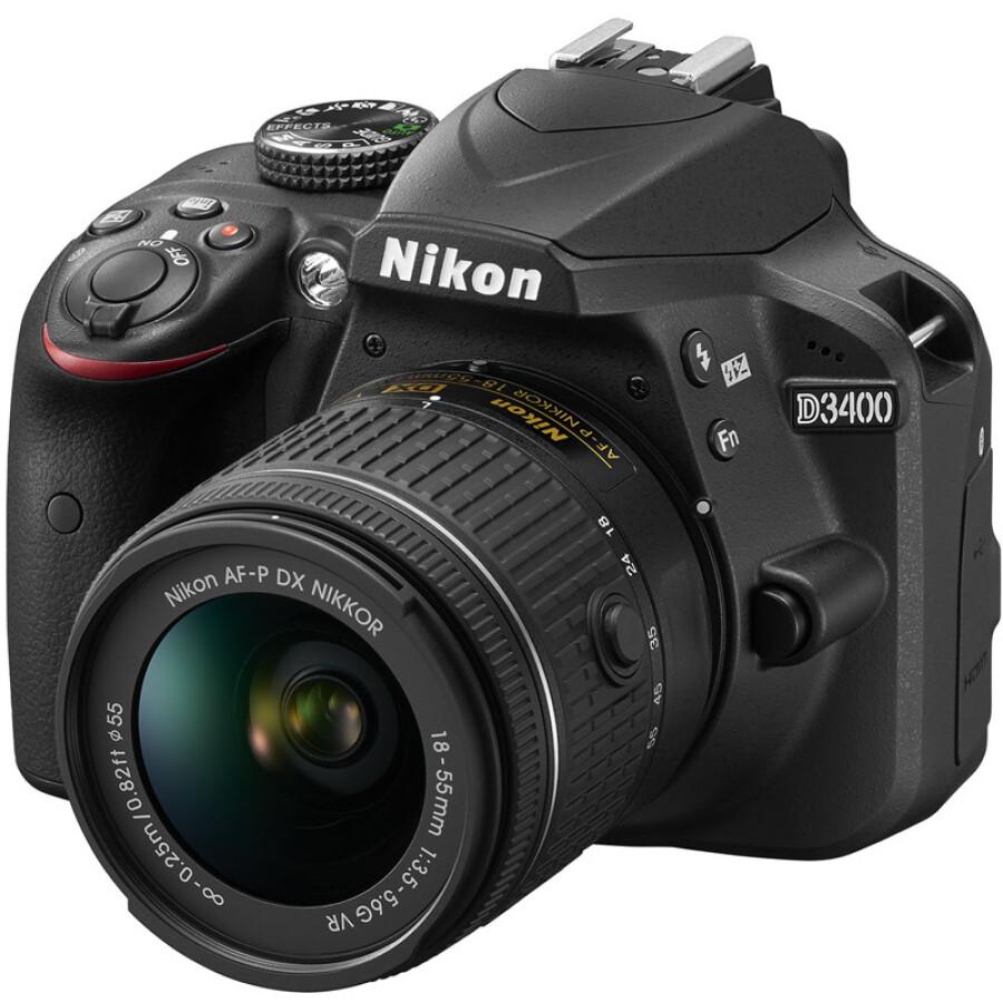Máy Ảnh Nikon D3400 SLR - Hàng nhập khẩu