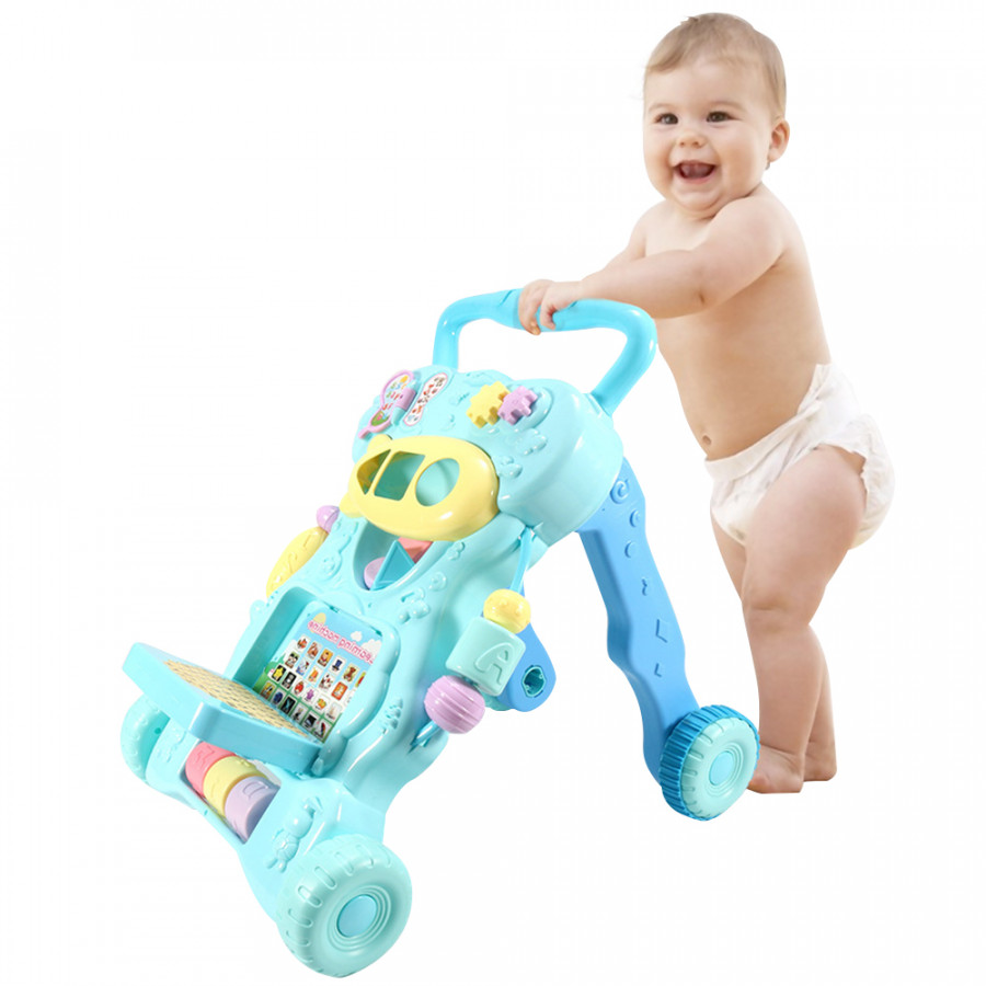 Baby Sit to Stand Walkers Toy Kids Activity Play Center With Musical Learning Push Walker For Infant Boys Girls - 1863911 , 2833461563436 , 62_14154878 , 744000 , Baby-Sit-to-Stand-Walkers-Toy-Kids-Activity-Play-Center-With-Musical-Learning-Push-Walker-For-Infant-Boys-Girls-62_14154878 , tiki.vn , Baby Sit to Stand Walkers Toy Kids Activity Play Center With Musi