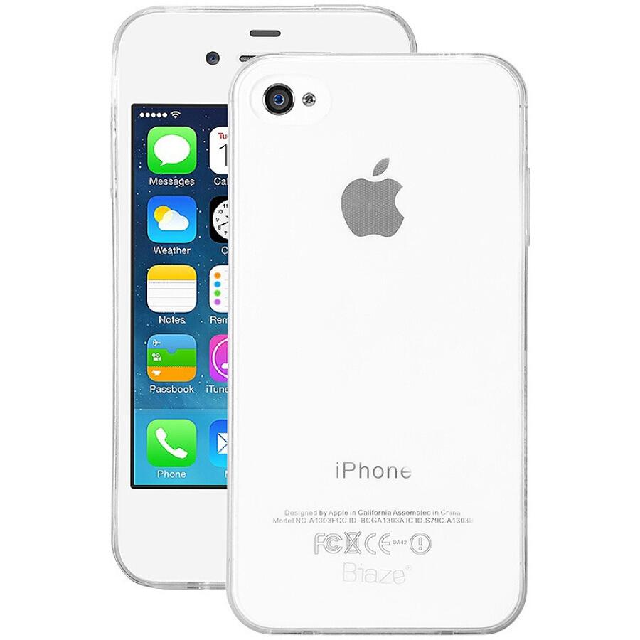 Ốp Điện Thoại Trong Suốt BIAZE Apple 4S/4 JK09
