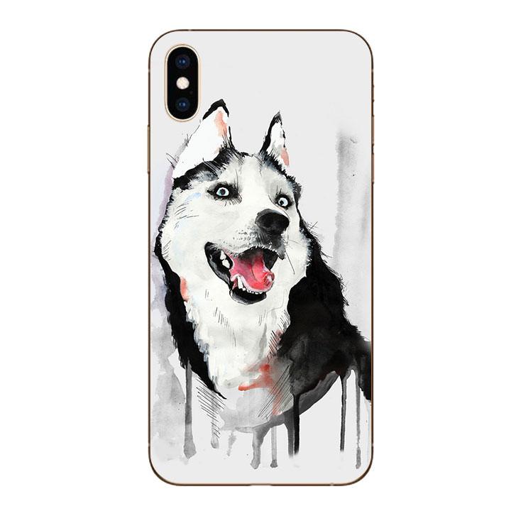 Ốp lưng dẻo cho Iphone XS Max - Hurky 01