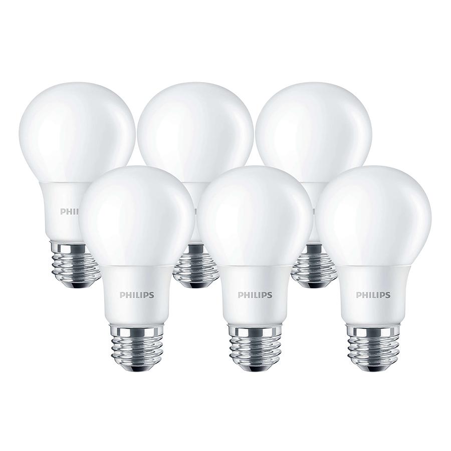 Bộ 7 Bóng Đèn Philips LED Ledbulb 6W 3000K E27 A60 - Ánh Sáng Vàng - Hàng Chính Hãng - 9437523 , 4013058888052 , 62_987358 , 624000 , Bo-7-Bong-Den-Philips-LED-Ledbulb-6W-3000K-E27-A60-Anh-Sang-Vang-Hang-Chinh-Hang-62_987358 , tiki.vn , Bộ 7 Bóng Đèn Philips LED Ledbulb 6W 3000K E27 A60 - Ánh Sáng Vàng - Hàng Chính Hãng