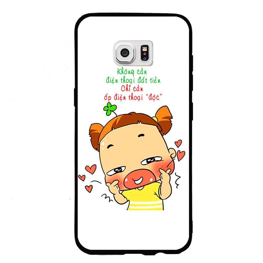 Ốp lưng viền TPU cho điện thoại Samsung Galaxy S7 - Qak