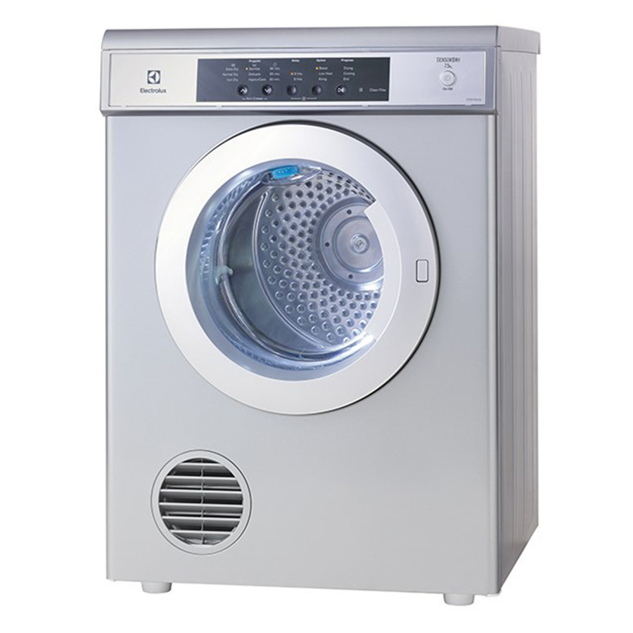 Máy Sấy Cửa Trước Electrolux EDS7552S (7.5kg) - Xám Bạc