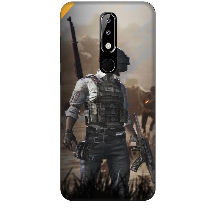 Ốp lưng dành cho điện thoại NOKIA 5.1 Plus hình PUBG Mẫu 10