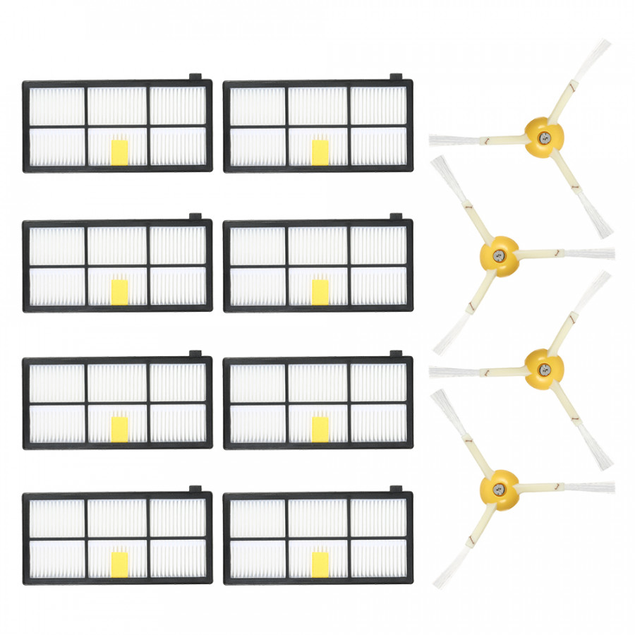 Pack of 12 Replacement Accessories Kit for iRobot Roomba 800  900 Series 805 860 861 864 866 870 880 890 891 894 960 - 7590690 , 9125805147789 , 62_16928066 , 450000 , Pack-of-12-Replacement-Accessories-Kit-for-iRobot-Roomba-800-900-Series-805-860-861-864-866-870-880-890-891-894-960-62_16928066 , tiki.vn , Pack of 12 Replacement Accessories Kit for iRobot Roomba 800