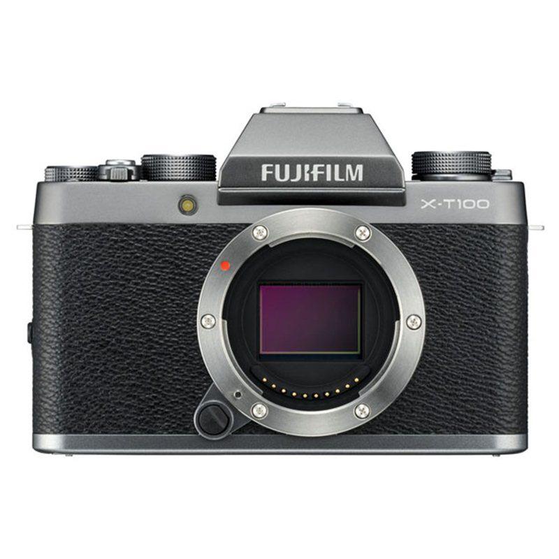 Máy Ảnh Fujifilm X-T100 Kit XC15-45mm f3.5-5.6 OIS (Bạc) + Thẻ Nhớ Sandisk 16GB Tốc Độ 48MB/s + Túi Đựng Máy Ảnh Fujifilm -...