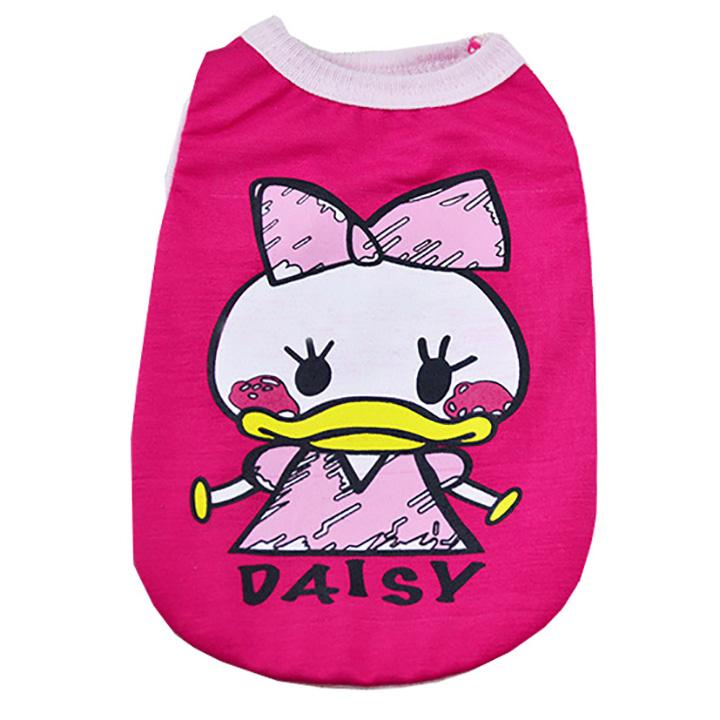 Áo cho thú cưng vịt hồng daisy