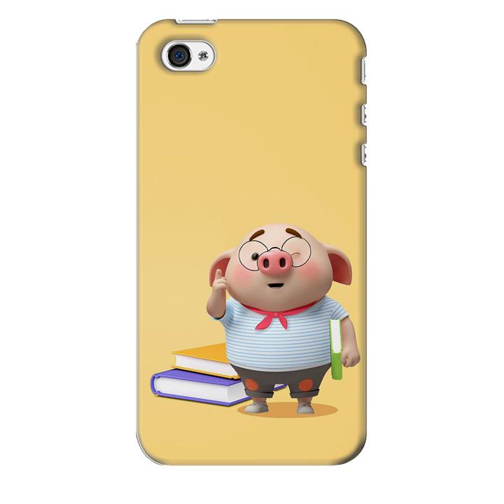 Ốp lưng nhựa cứng nhám dành cho iPhone 4S in hình Heo Mọt Sách - 2016897 , 3597025724211 , 62_15108228 , 200000 , Op-lung-nhua-cung-nham-danh-cho-iPhone-4S-in-hinh-Heo-Mot-Sach-62_15108228 , tiki.vn , Ốp lưng nhựa cứng nhám dành cho iPhone 4S in hình Heo Mọt Sách