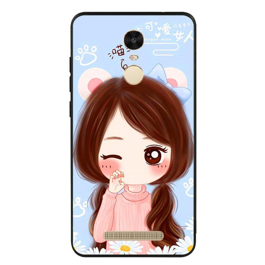 Ốp lưng viền TPU cao cấp cho điện thoại Xiaomi Redmi Note 3 -Baby Girl