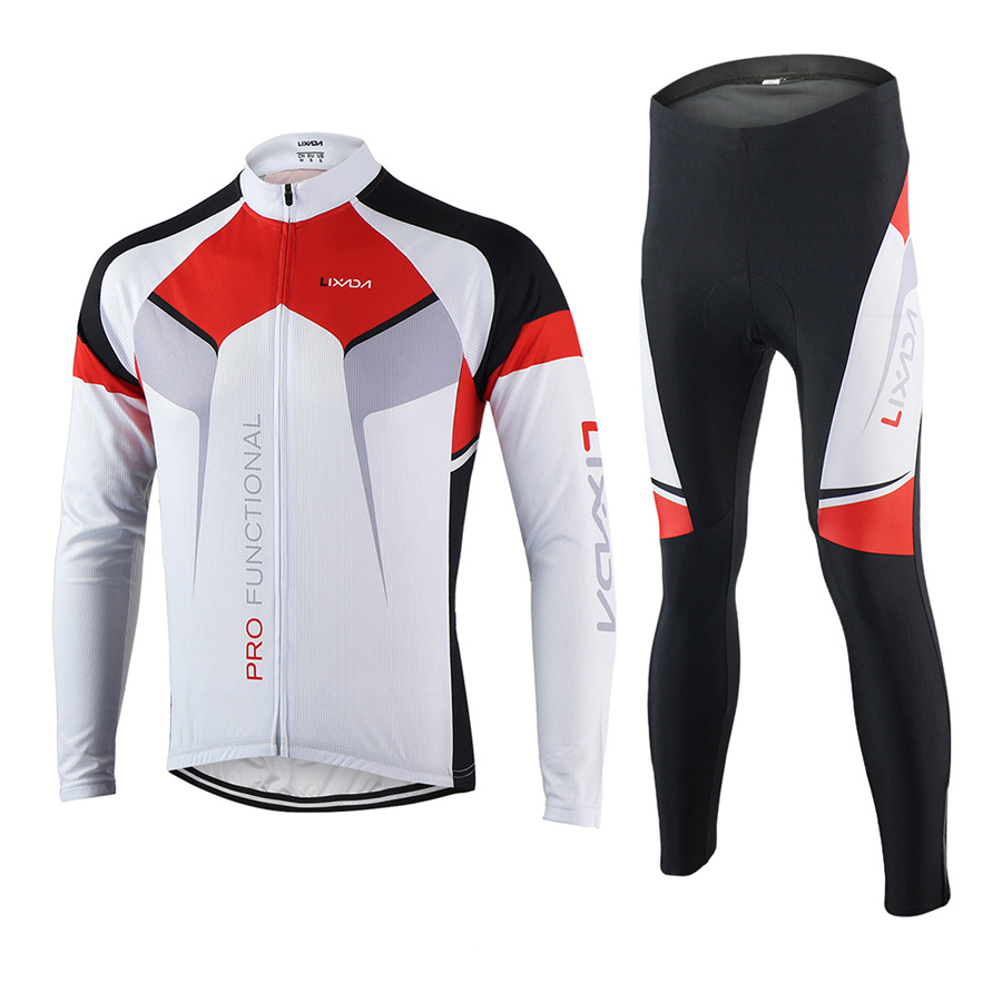 Lixada Spring Autumn Cycling Clothing Set Sportswear Suit Bicycle Bike Outdoor Long Sleeve Jersey + Pants Breathable - 2162960 , 4127948657311 , 62_13836896 , 1136000 , Lixada-Spring-Autumn-Cycling-Clothing-Set-Sportswear-Suit-Bicycle-Bike-Outdoor-Long-Sleeve-Jersey-Pants-Breathable-62_13836896 , tiki.vn , Lixada Spring Autumn Cycling Clothing Set Sportswear Suit Bic