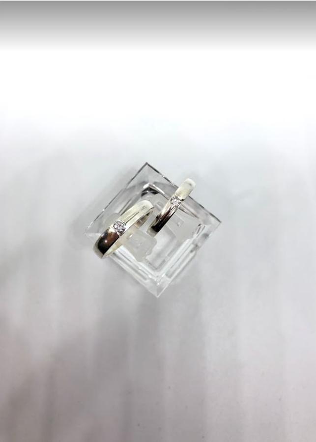 Nhẫn Đôi - Mẫu 04-NĐ0004 Cỡ Trung