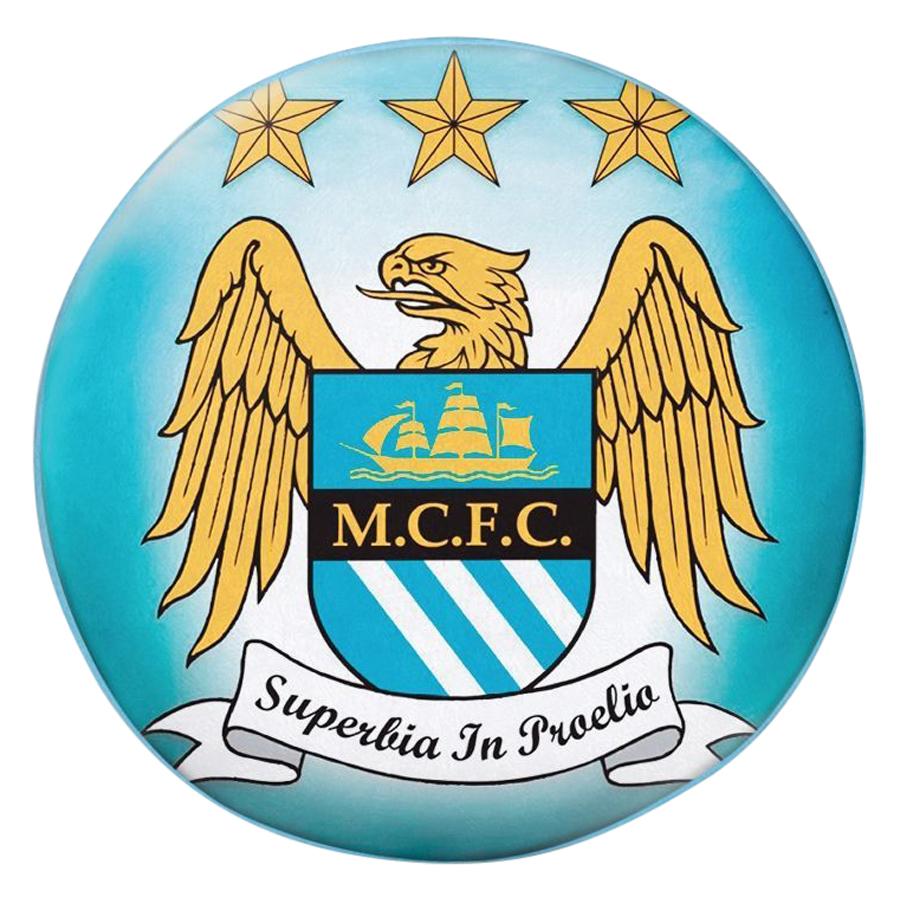 Gối Ôm Tròn Manchester City GOST007