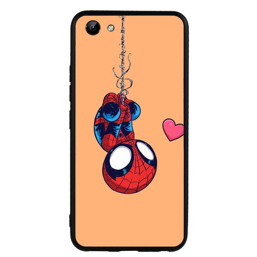 Ốp lưng nhựa cứng viền dẻo TPU cho điện thoại Vivo Y81 - Spiderman 02