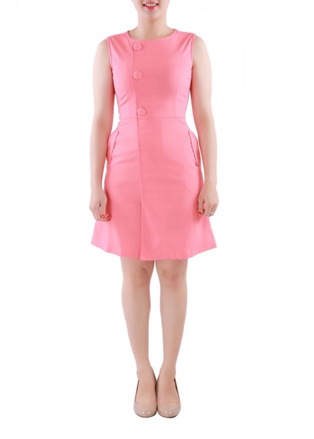 Đầm Nữ Ngực Phối Nút Bọc Zerasy Fashion - 1349173 , 4497724319321 , 62_8121317 , 299000 , Dam-Nu-Nguc-Phoi-Nut-Boc-Zerasy-Fashion-62_8121317 , tiki.vn , Đầm Nữ Ngực Phối Nút Bọc Zerasy Fashion