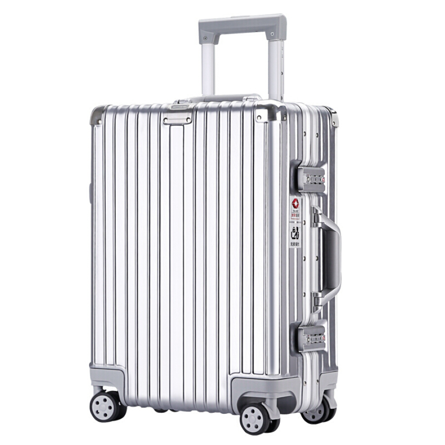 Seven wolves aluminum frame trolley case 24 inch suitcase men and women caster suitcase suitcase box black brushed QPL820126-A24 - 1906957 , 3231291323517 , 62_10249623 , 2848000 , Seven-wolves-aluminum-frame-trolley-case-24-inch-suitcase-men-and-women-caster-suitcase-suitcase-box-black-brushed-QPL820126-A24-62_10249623 , tiki.vn , Seven wolves aluminum frame trolley case 24 inc