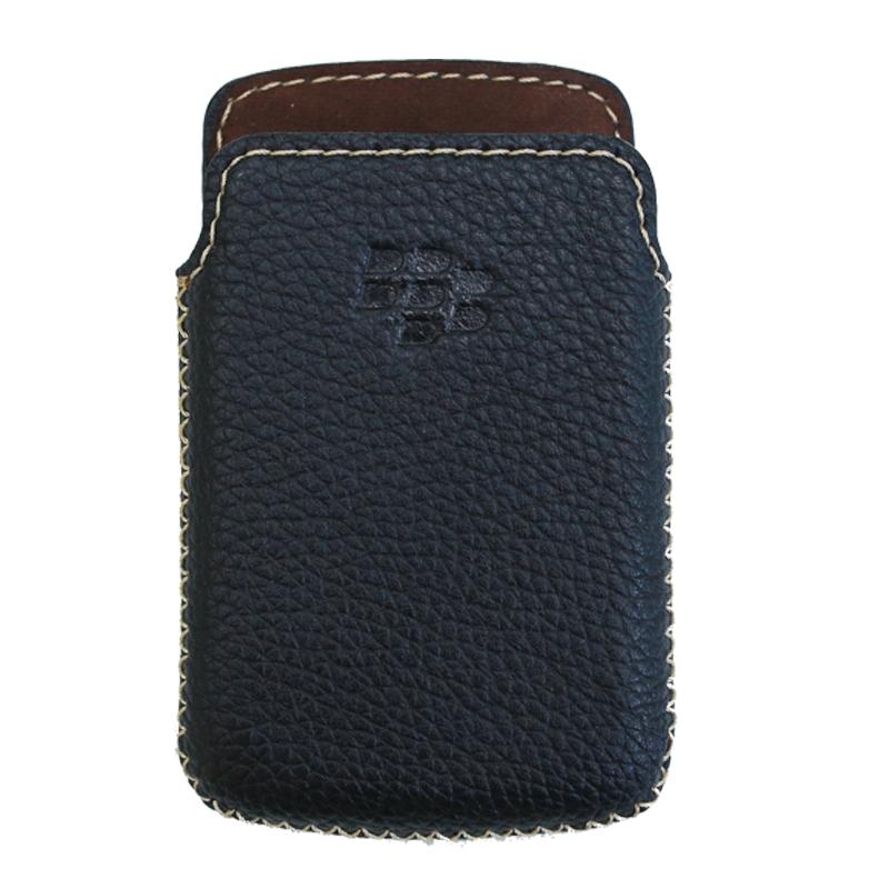 Bao Da Rút Dành Cho Blackberry  bold 9000 đen