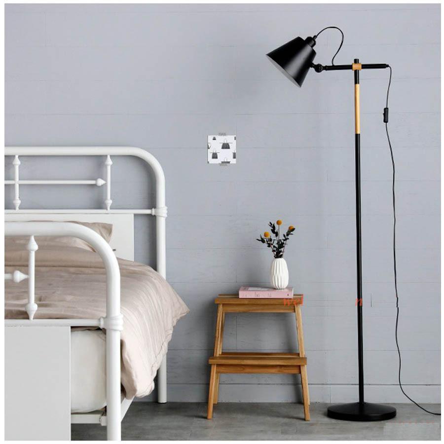 Đèn sàn trang trí nội thất cao cấp VINTAGE DC001 FULL BOX- Kèm bóng LED cao cấp