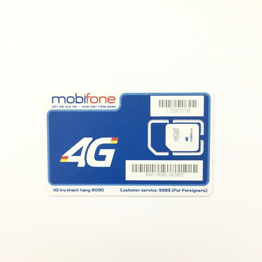 Sim 4G Mobifone MC90