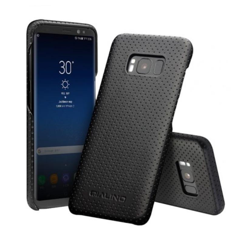 Ốp lưng tản nhiệt dành cho Samsung Galaxy S8 Qialino - Hàng chính hãng