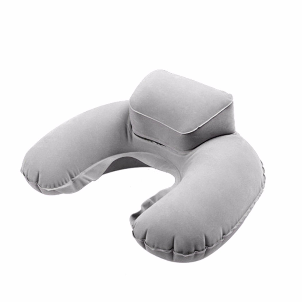 Inflatable Travel Pillow Portable U Shape Neck Pillow Pvc Head Support Flocking Pillow For Airplane Home Office Car Home Textile - 15674819 , 1814769316352 , 62_27010206 , 109000 , Inflatable-Travel-Pillow-Portable-U-Shape-Neck-Pillow-Pvc-Head-Support-Flocking-Pillow-For-Airplane-Home-Office-Car-Home-Textile-62_27010206 , tiki.vn , Inflatable Travel Pillow Portable U Shape Neck