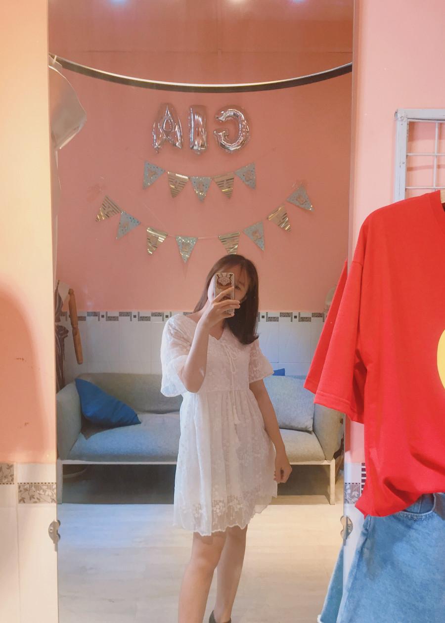 Đầm baby ren