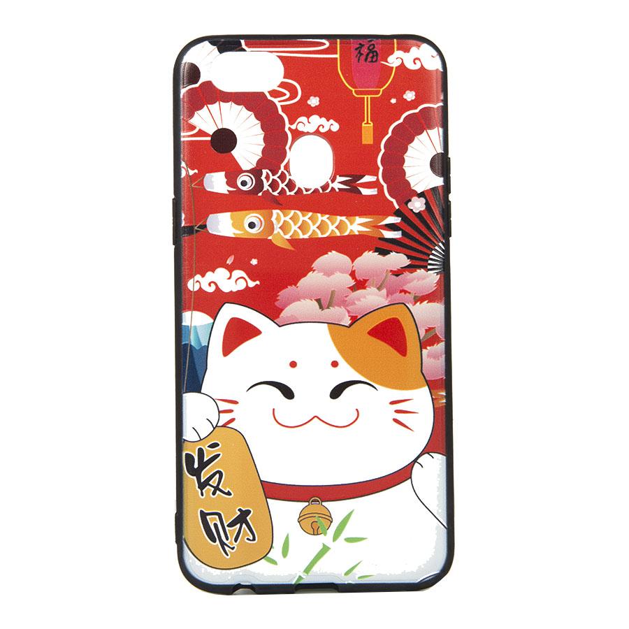Ốp lưng dành cho Oppo F5 mèo thần tài