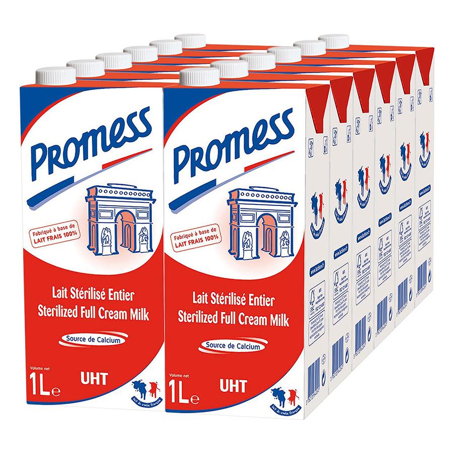 Thùng 12 Hộp Sữa Tươi Nguyên Kem Promess (1L /Hộp) - 1040894 , 6023261308078 , 62_3480655 , 516000 , Thung-12-Hop-Sua-Tuoi-Nguyen-Kem-Promess-1L-Hop-62_3480655 , tiki.vn , Thùng 12 Hộp Sữa Tươi Nguyên Kem Promess (1L /Hộp)
