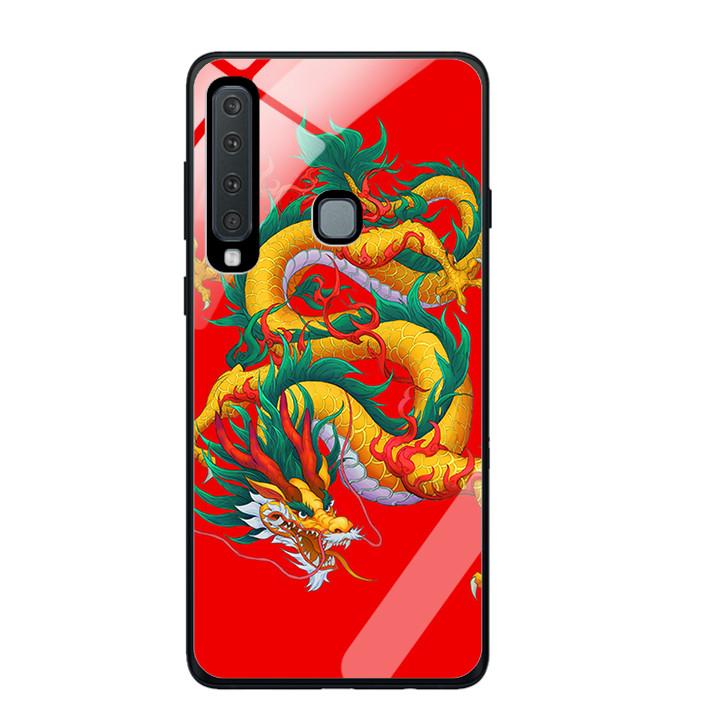 Ốp Lưng Kính Cường Lực Cho Điện Thoại Samsung Galaxy A9 2018 - 391 0093 DRAGON09