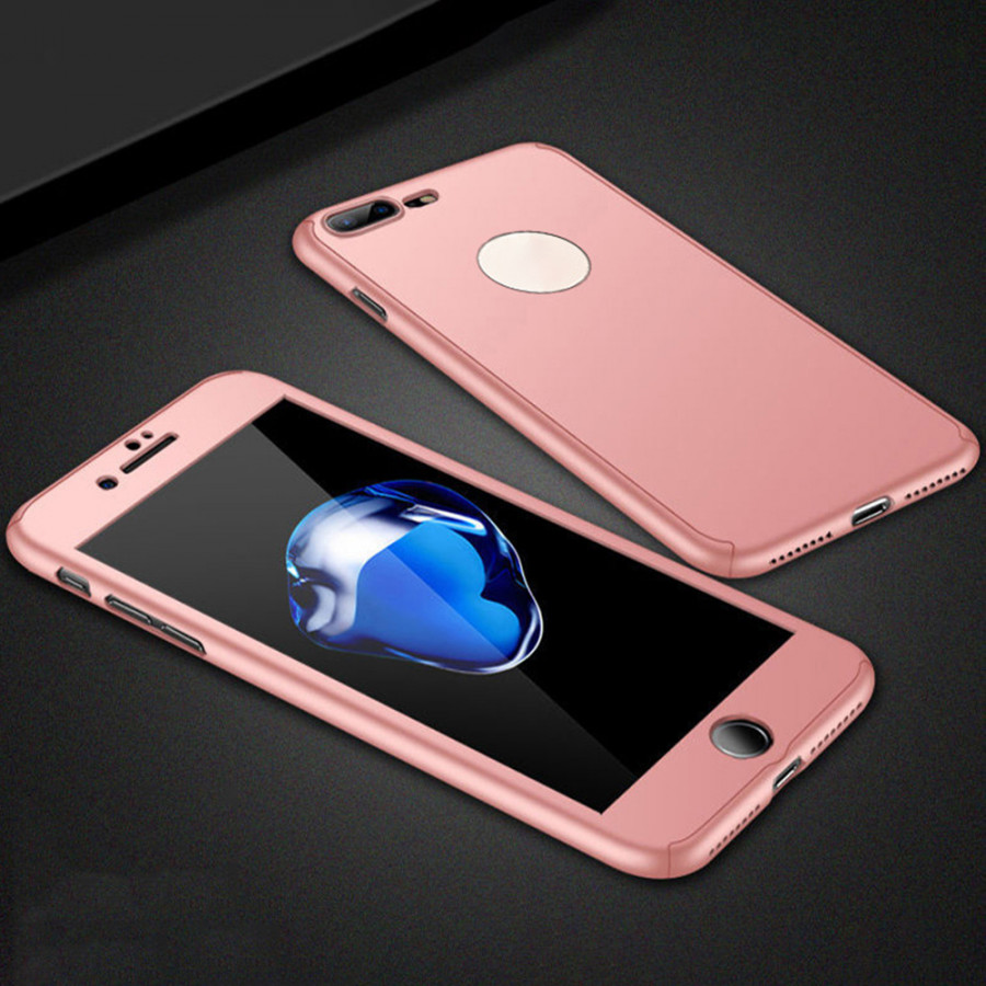 360 Degree Hard PC Protective Shell Full Body Cover Mobile Phone Case with Tempered Glass Screen Protector - 2289774 , 5710937319018 , 62_14704400 , 181000 , 360-Degree-Hard-PC-Protective-Shell-Full-Body-Cover-Mobile-Phone-Case-with-Tempered-Glass-Screen-Protector-62_14704400 , tiki.vn , 360 Degree Hard PC Protective Shell Full Body Cover Mobile Phone Case