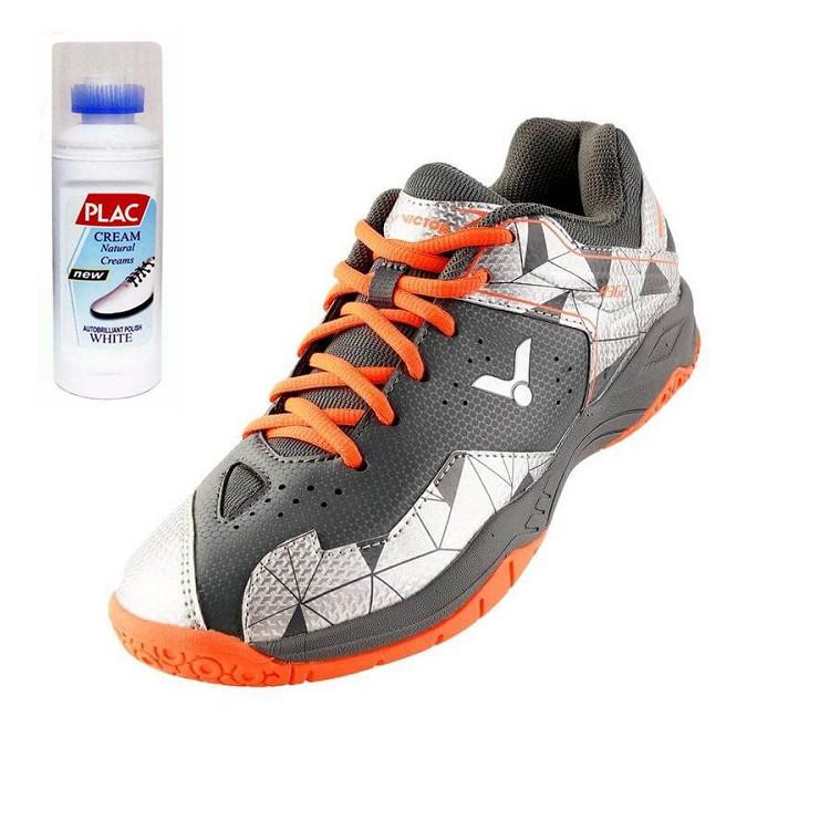 Giày Cầu lông Nam Victor chính hãng A362CS - Tặng bình làm sạch giày cao cấp