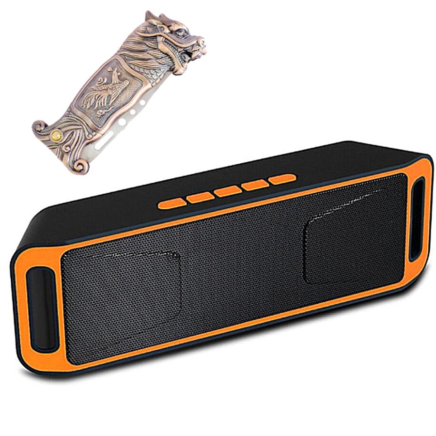Combo Loa Nghe Nhạc CS-802 Hỗ Trợ Bluetooth USB, Thẻ Nhớ, FM + Bật Lửa Khò Kiêm Dao Khắc Rồng (Màu Ngẫu Nhiên Với 2... - 764620 , 5415024575062 , 62_9428235 , 600000 , Combo-Loa-Nghe-Nhac-CS-802-Ho-Tro-Bluetooth-USB-The-Nho-FM-Bat-Lua-Kho-Kiem-Dao-Khac-Rong-Mau-Ngau-Nhien-Voi-2...-62_9428235 , tiki.vn , Combo Loa Nghe Nhạc CS-802 Hỗ Trợ Bluetooth USB, Thẻ Nhớ, FM + Bật