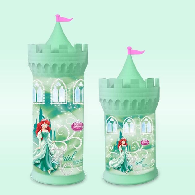 Sữa tắm bé gái lâu đài công chúa Disney Cinderella 350ml