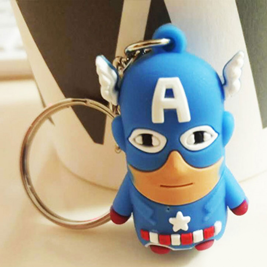 Key Ring Cartoon Keys Chain Cute Marvel The Avengers Car Key Chain 3D Silicone Gifts Superman Iron Man Decoration - 1926513 , 4518795857885 , 62_12310834 , 219000 , Key-Ring-Cartoon-Keys-Chain-Cute-Marvel-The-Avengers-Car-Key-Chain-3D-Silicone-Gifts-Superman-Iron-Man-Decoration-62_12310834 , tiki.vn , Key Ring Cartoon Keys Chain Cute Marvel The Avengers Car Key Ch