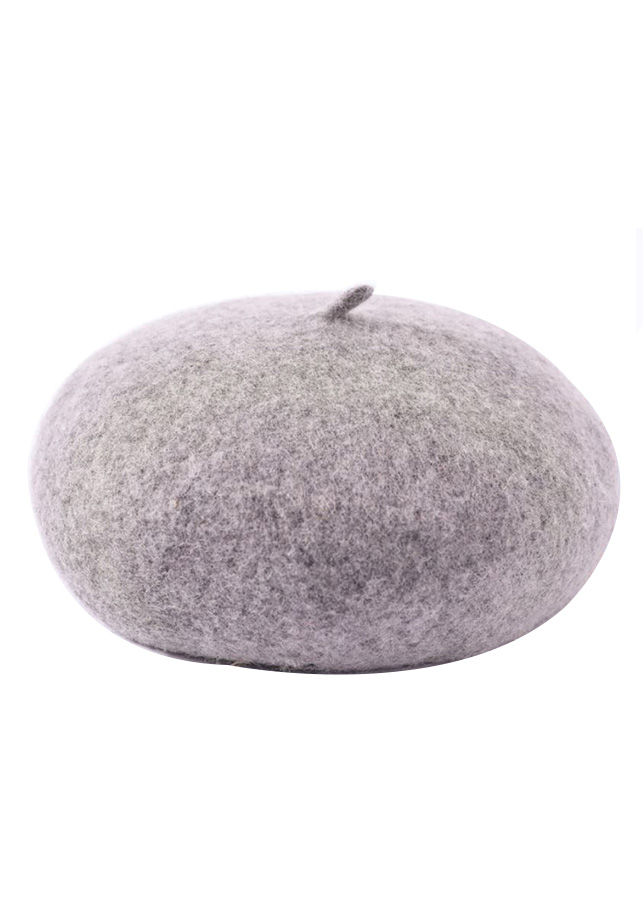 Mũ nồi len beret phong cách basic MZ171