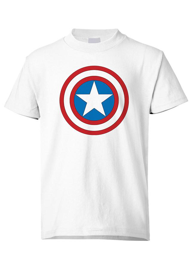 Áo Thun Biểu Tượng  Đội Trưởng Mỹ Captain America Marvel