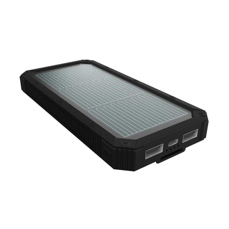 Pin Sạc Dự Phòng Năng Lượng Mặt Trời Hanergy Cho iPhone 6/7/8 Oppo Huawei Vivo 10000 mAh